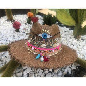 sombrero decorado para mujer agudeño decorado playa flores cintas elegante bisuteria sol elegua vaquero fiesta artesanal cartagena bucaramanga cabalgata de moda vueltiao Santa Marta Montería bisuteria cali
