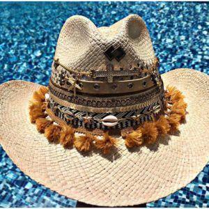 Sombrero de moda para mujer sombrero para mujer con adornos Ibagué Manizales decorado vueltiao de moda vaquero agudeño playa artesanal flores sol elegante Armenia bogota fiesta cintas barranquilla bello cabalgata elegua bisuteria