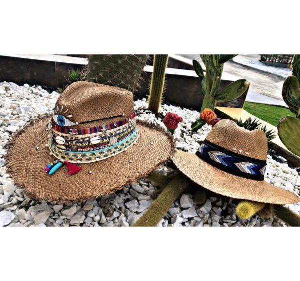 Sombrero para mujer sombrero para mujer decorado Valledupar Neiva bisuteria flores playa sol elegante vaquero cintas decorado artesanal de moda buga colombia fiesta elegua cucuta tejido cabalgata vueltiao agudeño