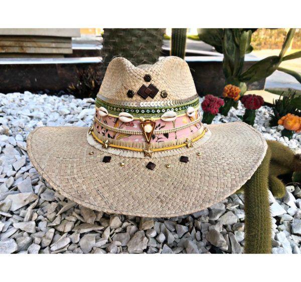 sombrero para mujer decorado Manizales Armenia vueltiao cintas vaquero flores decorado de moda artesanal elegua sol bisuteria bogota Ibagué cabalgata elegante barranquilla bello fiesta agudeño playa