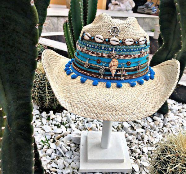 Sombrero para Mujer decorado Deluxe