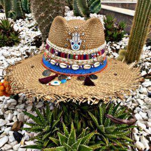 sombrero decorado para mujer artesanal elegua de moda cintas playa decorado sol agudeño vueltiao flores vaquero elegante bisuteria Ibagué Pereira Armenia bogota cartagena bucaramanga
