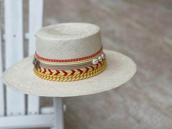 Sombrero Cordobés decorado para Mujer Deluxe 0085 | Milolita Store - Tienda Virtual |%count(title)%