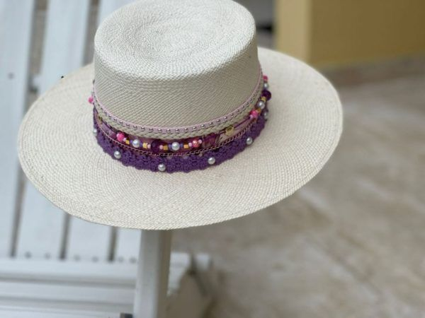 Sombrero Cordobés decorado para Mujer 0078   Milolita Store - Tienda Virtual  %count(title)%