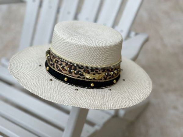 Sombrero Cordobés decorado para Mujer 0077   Milolita Store - Tienda Virtual  %count(title)%