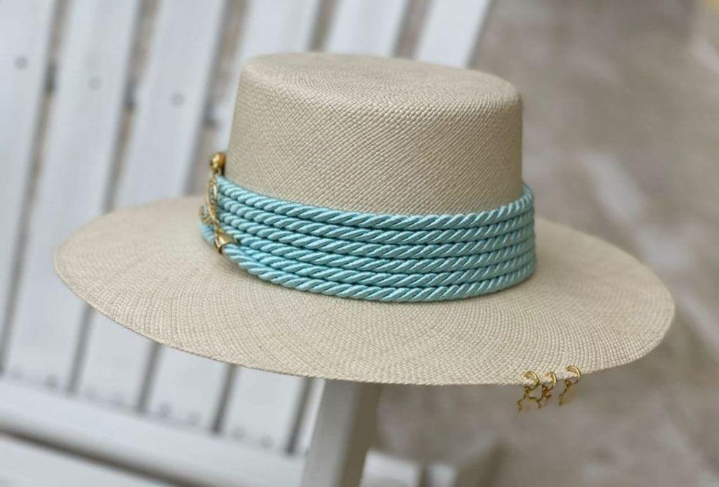 sombrero cordobes decorado